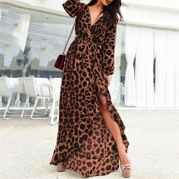Baju Long Dress Maxy Kimono Motif Model Terbaru
