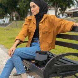 Jaket Wanita Model Terbaru Trendy Masa Kini