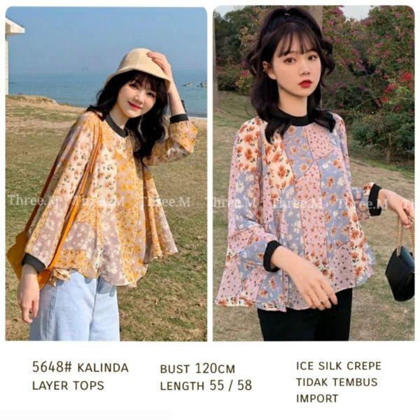 Model Baju Atasan Wanita Gaya Korea Terbaru