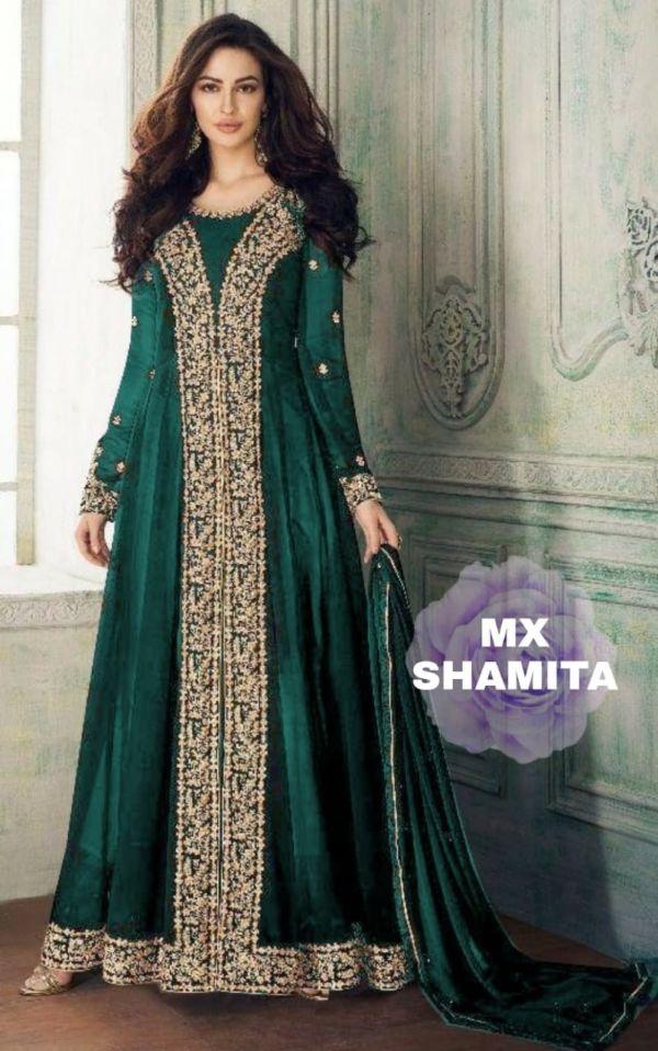 Baju Gamis Maxy India Bordir Model Terbaru