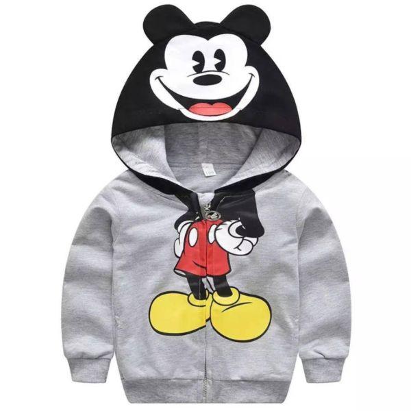 Jaket Anak Laki-laki Gambar Mickey Mouse Keren
