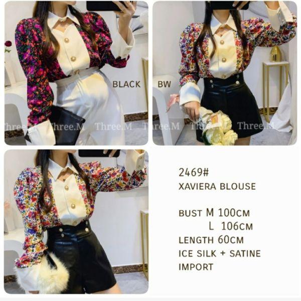Model Baju Atasan Lengan Panjang Modis Motif Cantik