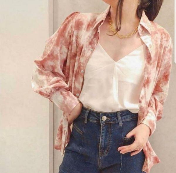 Model Baju Hem Wanita Bahan Katun Motif Marble