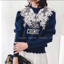 Model Baju Sweater Lace Wanita Cantik Terbaru