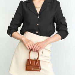 Baju Kemeja Wanita Hem Paris Polos Modern