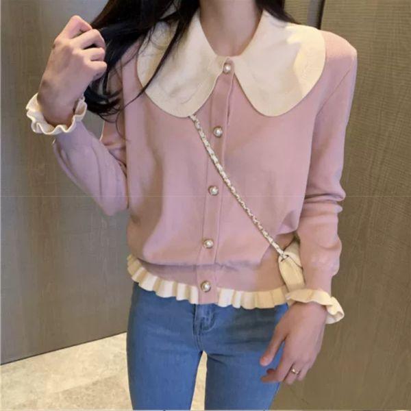 Baju Cardigan Knit Top Import Cantik Model Terbaru