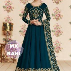 Baju Gamis Maxy India Bordir Cantik Harga Murah
