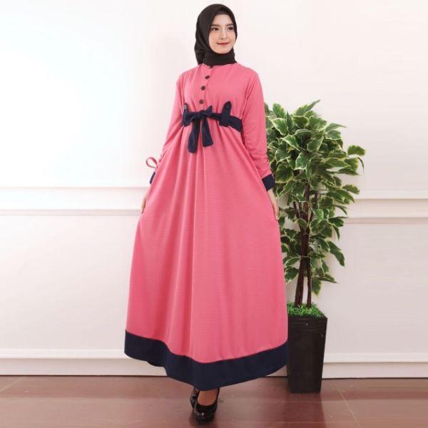 Baju Gamis Pakaian Muslim Wanita Remaja Modern