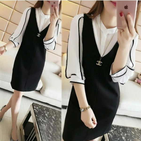 Baju Mini Dress Pendek Vion Cantik Harga Murah