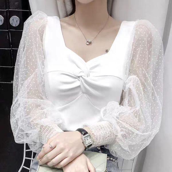 Model Baju Atasan Wanita Crop Top Bahan Rajut