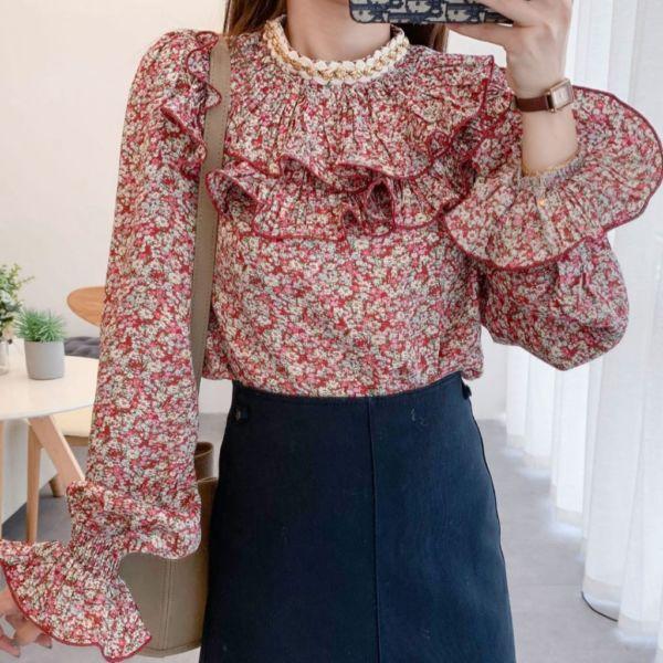 Model Baju Atasan Wanita Snowdrop Layer Terbaru