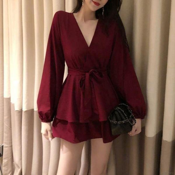 Setelan Baju Model Kimono dan Celana Pendek Modis