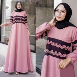 Baju Gamis Maxy Dress Panjang Remaja Modern