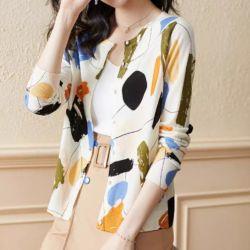 Baju Outer Pasta Knit Cardigan Model Terbaru