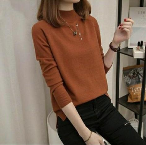 Baju Sweater Rajut Wanita Modern Good Quality
