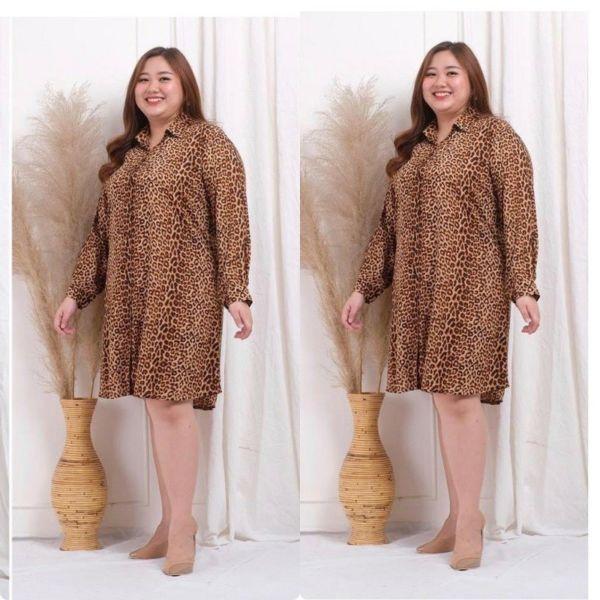 Baju Tunik Super Jumbo Ukuran XXXL Motif