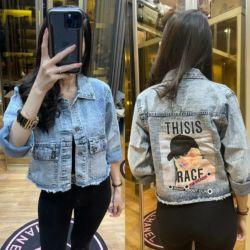 Jaket Jeans Wanita Gambar Modern Model Terbaru
