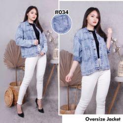 Jaket Jeans Wanita Good Quality Model Terbaru