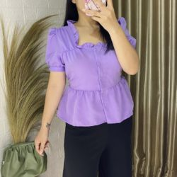 Model Baju Atasan Remaja Lengan Pendek Terbaru