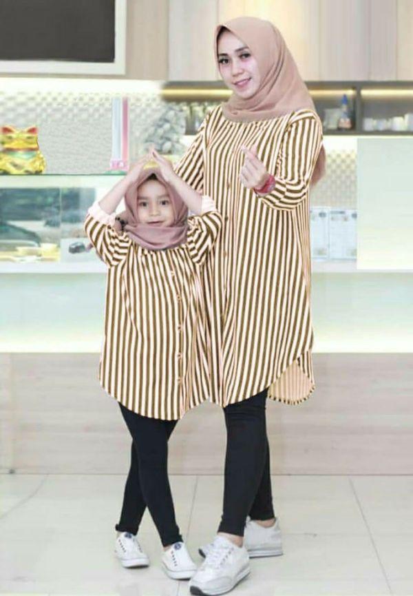 Baju Couple Kembaran Ibu dan Anak Perempuan