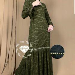 Baju Gamis Brukat Maxy Duyung Pesta Modern