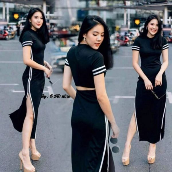 Baju Dress Scuba Remaja Modern Jaman Sekarang