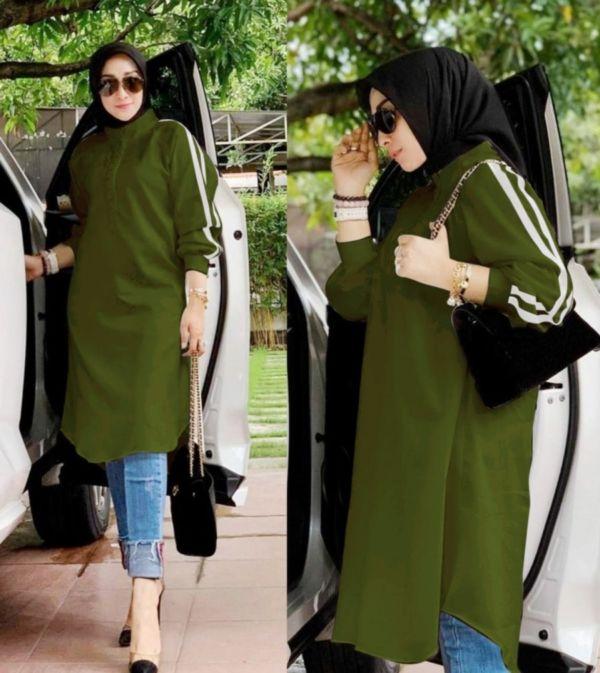 Model Blouse Lengan Panjang Baju Tunik Terbaru