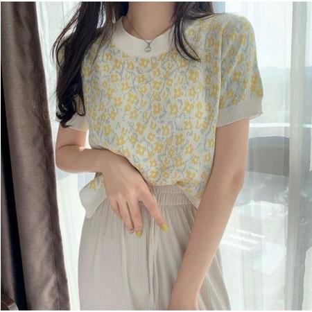 Baju Atasan Remaja Lengan Pendek Winona Knit