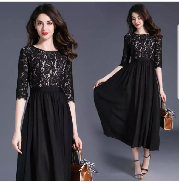 Baju Mini Dress Brukat Pesta Model Terbaru