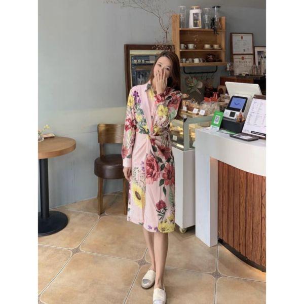 Model Baju Dress Bunga Terbaru Kekinian