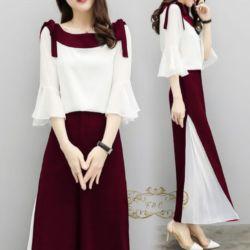 Model Baju Setelan Celana Panjang Modis