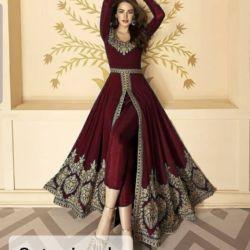 Model Baju Setelan India Bordir Zaman Sekarang