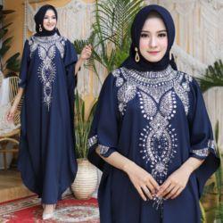 Model Long Dress Kaftan Jumbo Kekinian