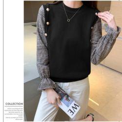 Vadeline Knit Top Blouse Wanita Rajut Modern