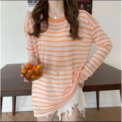 Baju Atasan Serendra Knit Lengan Panjang Kekinian