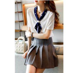 Baju Atasan Wanita Trendy Dassy Knit Top Gaya Korea