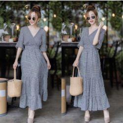 Baju Long Dress Kekinian Maxy Geyla High Quality