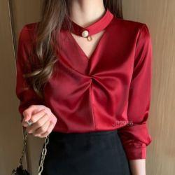 Model Baju Atasan Twist Terbaru Jaman Sekarang