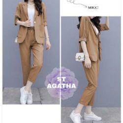 Model Setelan Blazer dan Celana Remaja Terbaru