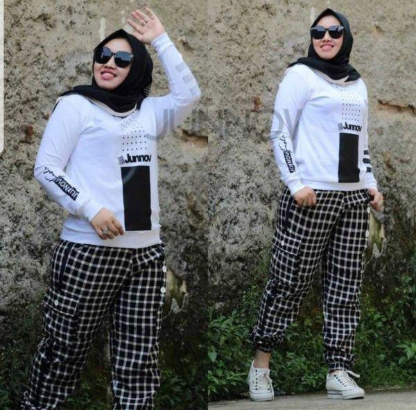 Model Setelan Celana Panjang Olahraga Wanita