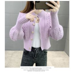 Baju Cardigan Knit High Quality Model Terbaru